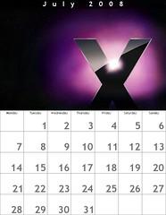 Mac Calendar [July 2008]