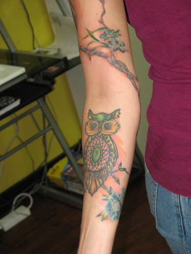 tattoo owl. 476177ecc0 Owl Tattoo