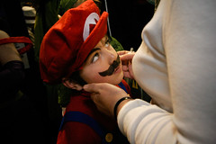 Super Mario Jr (Lil [Kristen Elsby]) Tags: boy topf25 costume child expo cosplay character topv1111 sydney mother makeup australia wideangle moustache flashphotography convention editorial cosplayer popculture olympicpark homebush reportage australasia supermario oceania supermariobros documentaryphotography supanova popcultureconvention gettycurators gettycurator forgettycurators forflickreditorial flickreditorial forflickrvision
