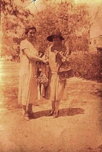 Paseo del Tránsito hacia 1920