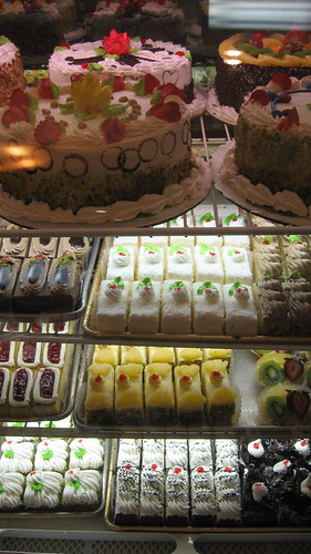 Desserts at Shatila