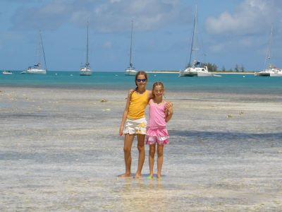 the girls on anegada