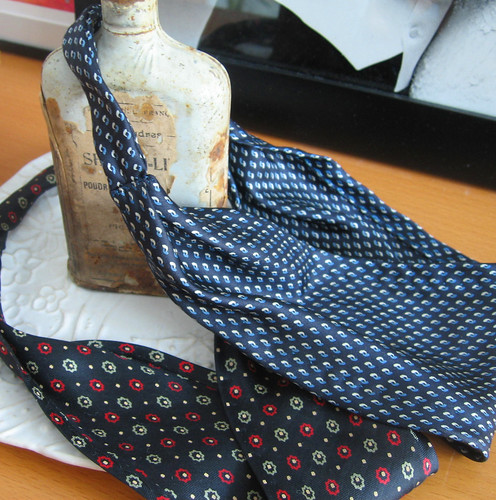 Ties made into headbands