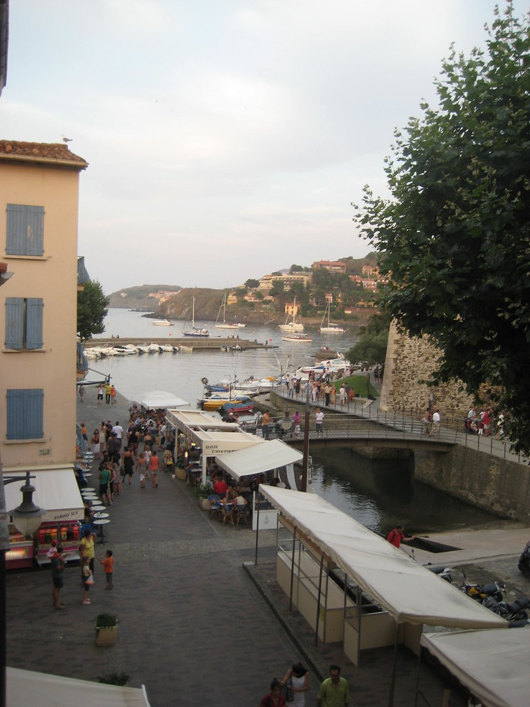 View from Hotel Les Templiers, south