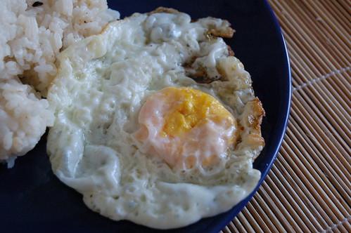 Mi primer huevo frito