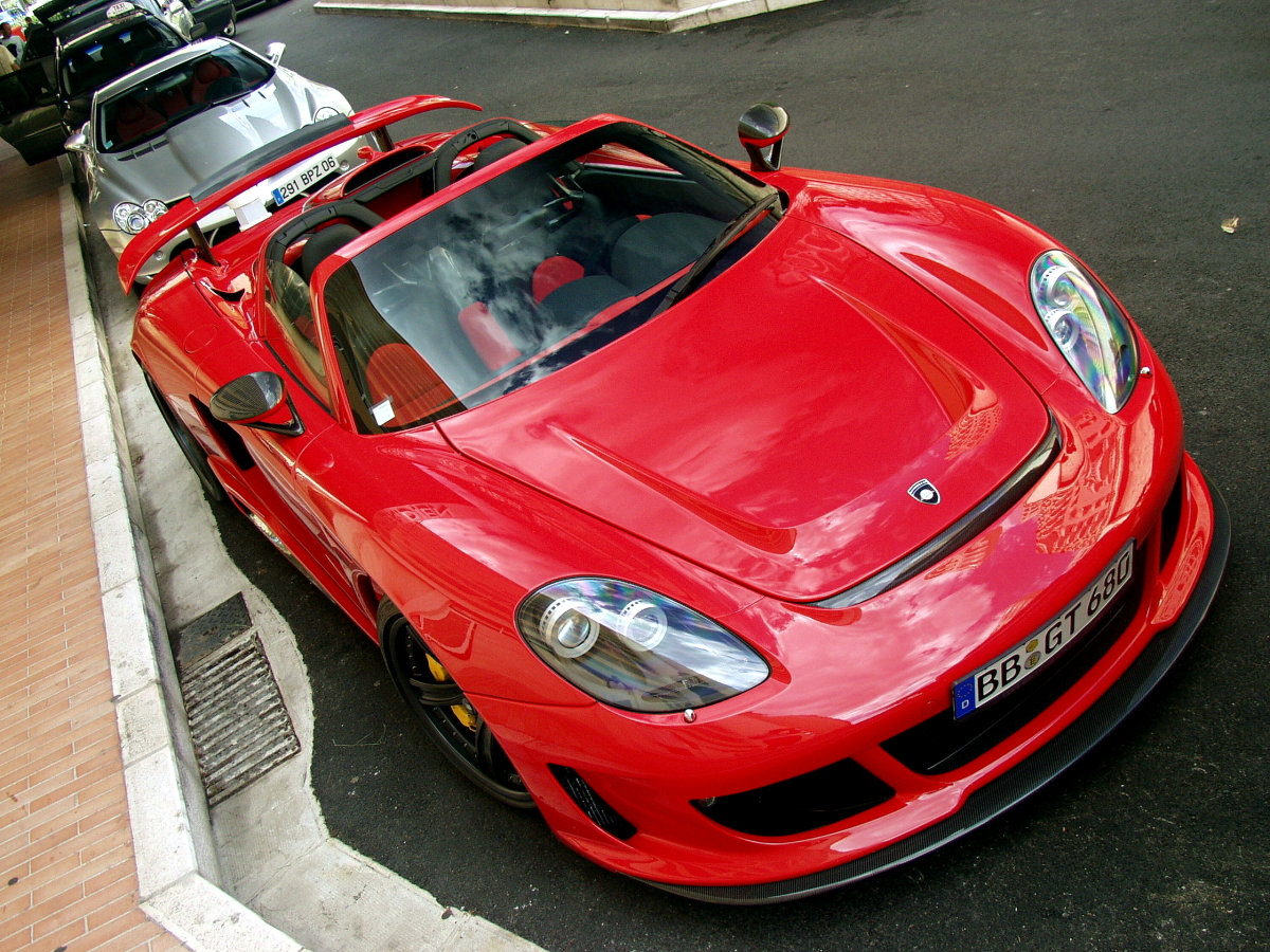 Gemballa Mirage GT Red