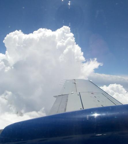 Thunderheads...