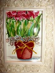 Dried Roses Framed