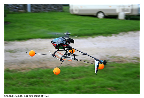 R/C Helicopter by Adam Pigott Photography