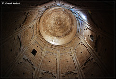 Inside of tower (Hamzeh Karbasi) Tags: old tower architecture persian iran tomb decoration persia mosque inside iranian  sufi sufism mystic oldcity islamic semnan    bastam  hamzeh  shahrood bayazid  karbasi hamzehkarbasi kashaneh   shahrud       khaneghah bastami  ilkhani  upcoming:event=916887  illkhanid