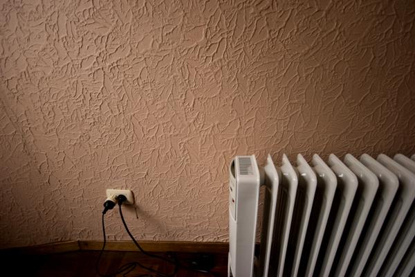 Wall heat.