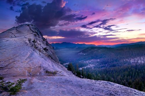 Lembert Dome Sunset