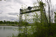 2006mjus_Welland_1345 (emzepe) Tags: old bridge ontario canada vertical booth canal lift steel mobil 2006 welland hd tavasz vge kirnduls movable kanada on truss mjus csatorna acl mozg flke emel nyithat aclszerkezetes