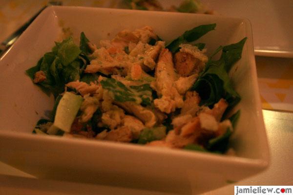 eaten salad