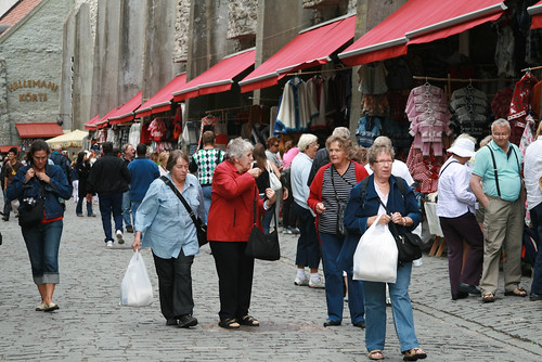 Shopping in Tallinn