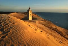 Lightouse (Maurizio Blasetti) Tags: sunset sea lighthouse abandoned denmark sand nikon europe dunes d200 danimarca mywinners aplusphoto yutland