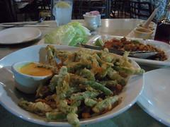 Fried Green Bean Appitizer