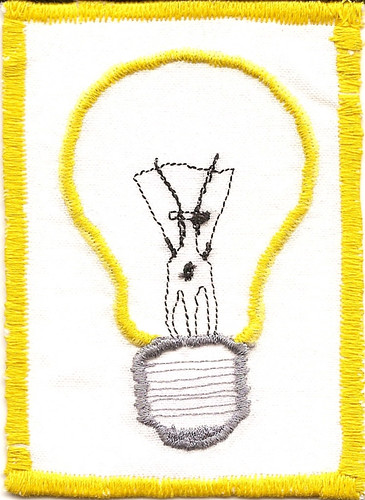 l is for lightbulb
