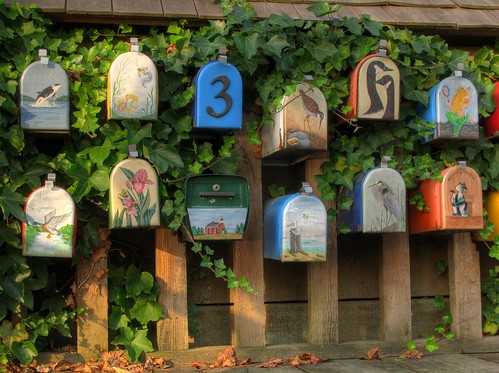 Mailboxes art
