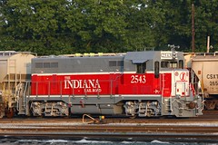 INRD 2543 Evansville IN 30 Aug 2008 (Train Chaser) Tags: evansville cf7 inrd inrd2543