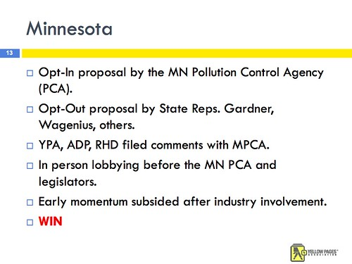 Yellow Pages Hate Minnesota
