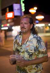 The Lord of All Things Vacation (bootykika) Tags: street red summer vacation shirt lasvegas awesome mullet fremont drinks gaudy hawaiian 5d tacky straws 2cups