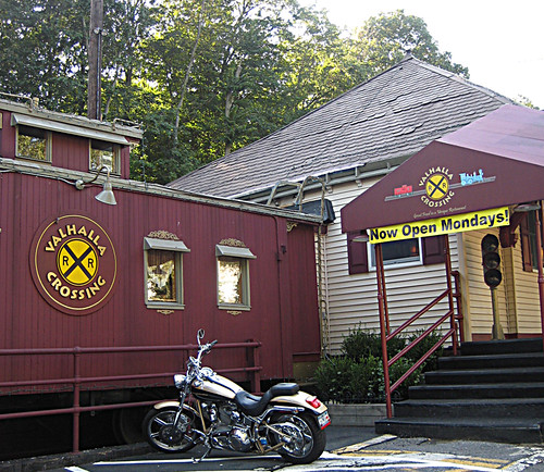 Valhalla Crossing Railway Car restaurant
