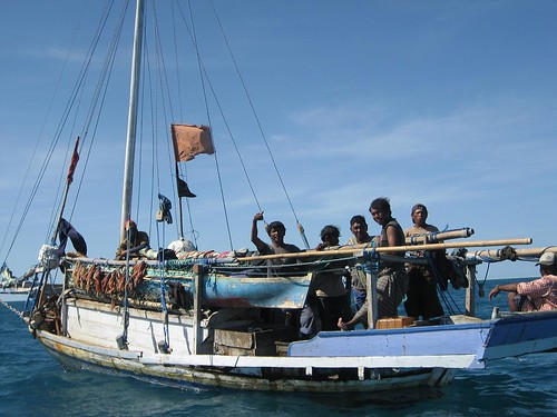 Indonesian 3 fishing boat ashmore