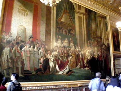 Napoleon Crowning someone