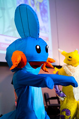 Mudkip and Renamon (yeshayden) Tags: cosplay pokemon digimon mudkip renamon manifest2008