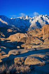 Mt. Whitney (sandy.redding) Tags: california mountains landscape sierranevada alabamahills nikkor50mmf18d explored portraitorientedlandscape