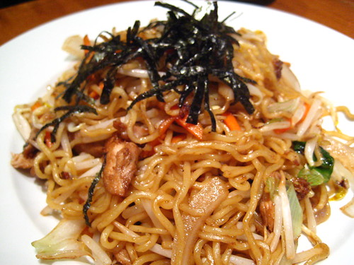 Yahisoba with Chicken