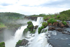 The main Falls at Iguazu
