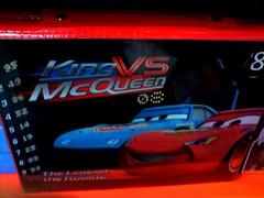 King vs McQueen 08 (marc e marc) Tags: game cars disney 08 capitalofculture liverpoolcapitalofculture2008 lighteningmcqueen figuresof08 kingvsmcqueen