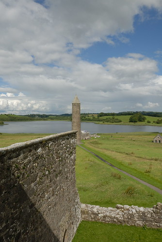 227-20070714NX_Co. Fermanagh-Lower Lough Erne-Devenish Island-St Mary's Priory-View from Tower