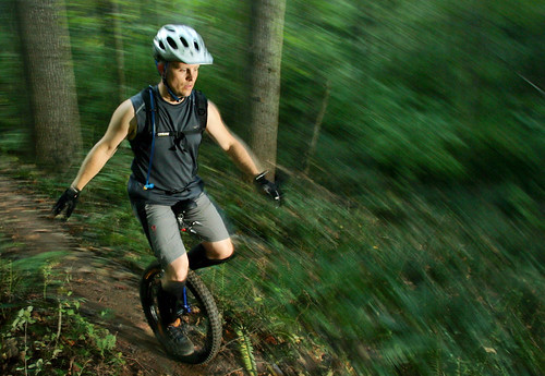 Mountain Unicyclist