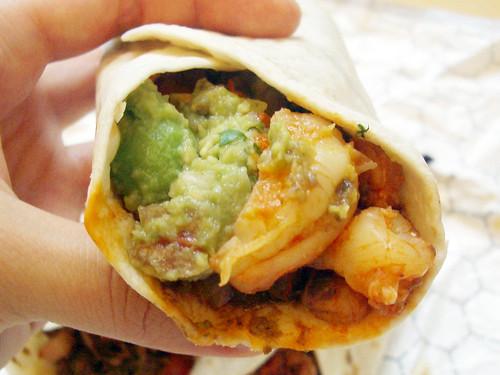 camaron taco @ pampano taqueria