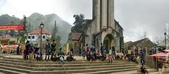 Sapa-Church (Cuong T Tran Photography) Tags: panorama mountain art vietnam hdr sapa fansipan hoanglienson
