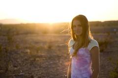 Katelynn (Rebelxtnut) Tags: light sunset portrait desert awesome backlighting katelynn prety thecliff