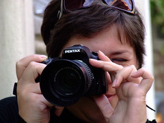 camera woman eye girl sunglasses turkey hands photographer pentax fingers istanbul objective