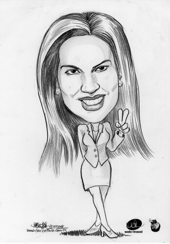 Caricatures Web in Travel 2008 Catherine Mcnabb