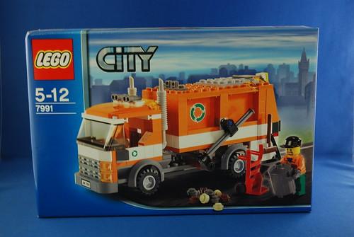 LEGO 7991 垃圾車_01.JPG