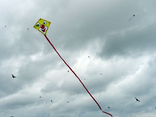 Frida's tiny clown kite