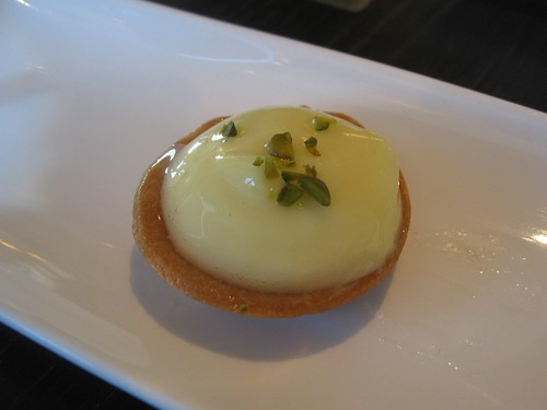 Lemon Tart with Pistachio