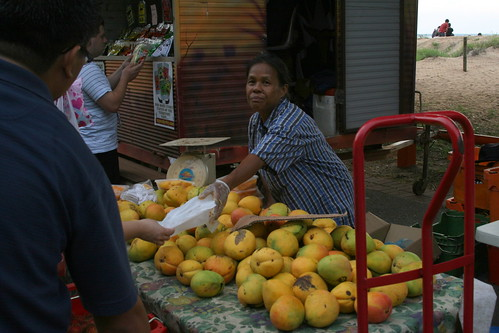 Mango stall at Mindil Beach Market