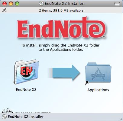 Endnote x2 mac