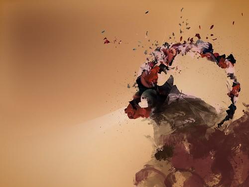 Ubuntu 8.10 Intrepid Ibex Wallpapers - 1bfeisty-final-ubuntu