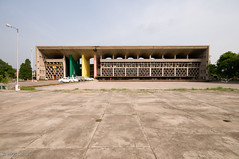 Le Corbusier's High Court Building in Chandigarh (ScottLarsen) Tags: travel urban india architecture court concrete gris one high cement best architect planning sector punjab lecorbusier administration supreme corbusier chandigarh modernist select highcourt ciam haryana chandi citybeautiful jeanneret unionterritory charlesdouard ploychrome charlesdouard