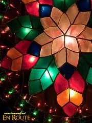 Colorful Capiz Parol