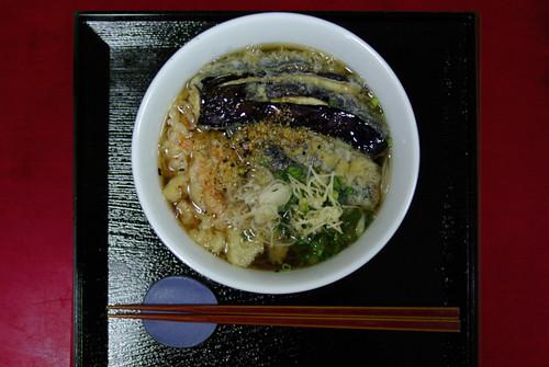 天麩羅煮麺